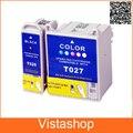 1 Компл. картридж Для Epson T026 T027 Для Epson Stylus Photo 810 820 830U Принтера