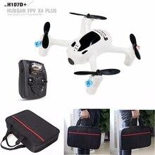 Free Shipping! Hubsan X4 Cam H107D+ Plus 2.4G HD Camera RC Drone+Remote Control+Handbag+Blades