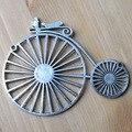APURAMENTO, charme pingente, Antique bronze/prata acabamento bicicleta liga encantos para colar de pingente, brinco e pulseira de jóias