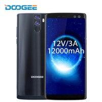 DOOGEE BL12000 Pro Smartphone 6.0 18:9 FHD+ Octa Core Android 7.0 6GB RAM 64GB ROM 16.0MP 12000mAh 4 Camera OTG 4G Mobile Phone