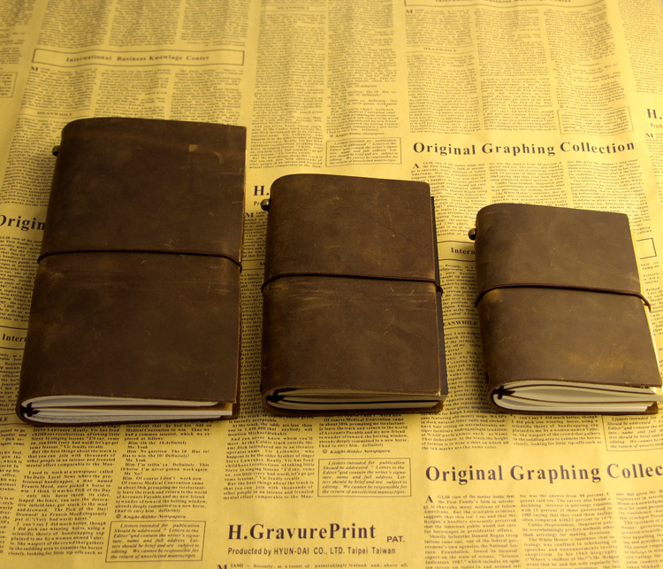 Vintage Book Cover Notebooks : Diaries journals notebook genuine leather vintage hand