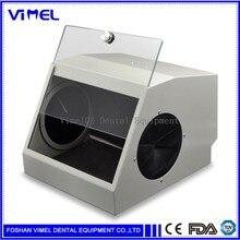 Dental Grinding Polishing Box Lapping Protector Sandblasting Dust proof Case Dental Sandblaster Dust Collector