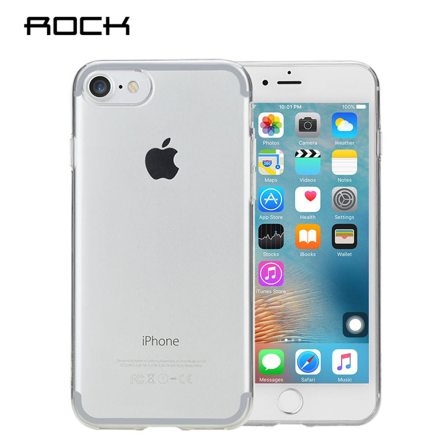 Rock para apple iPhone 7/7 plus TPU crystal Funda de silicona Funda - Accesorios y repuestos para celulares - foto 2