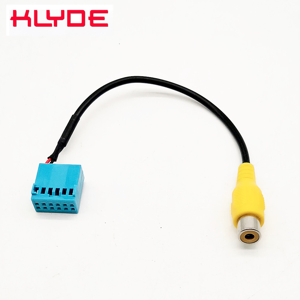 Car MIB Radio Rear Camera Video Plug Converter Cable For Volkswagen VW Golf 7 Jetta 5 6 MK5 MK6 Passat B6 Tiguan Touran