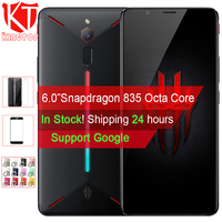 Original ZTE Nubia Red Magic Game Mobile Phone 6 Octa Core 6/8GB 64/128GB Full Screen Fingerprint Android 8.1 4G LTE Smartphone