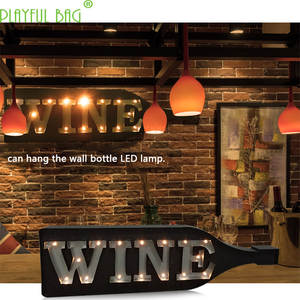 Led-Lamp Decoration Wine-Bottle Bedroom Children Bar with Creative by Hang Hang