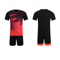 Football Sets Training Suit Clothes Set For Men Soccer Jersey And Short Sleeve Top Uniforms Quick