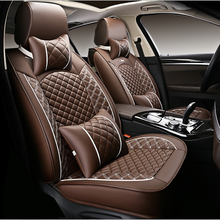 WLMWL Universal Leather Car seat cover for Chrysler all models 300c 300 Grand Voyager car accessories styling