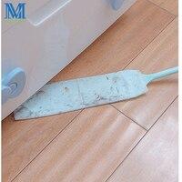 Cepillo de limpieza de polvo para el hogar, práctico cepillo de limpieza de polvo con mango largo, no tejido, 10 Uds.