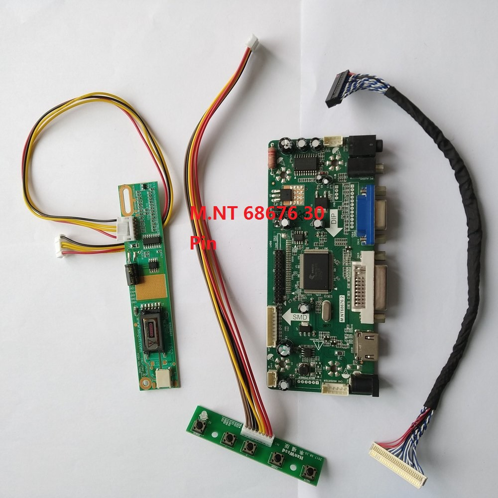 Kit for  B101AW03 LCD LED Lvds Controller Board Monitor panel HDMI+DVI+VGA