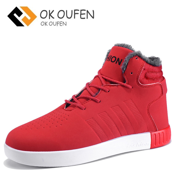 Qiaofeini Autumn and winter classic hot men casual shoes As design trend of the joker ultras boosts shoes man Warm snow outside