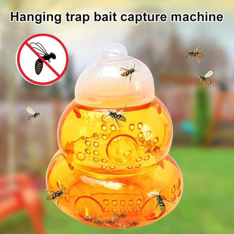 Tawon Hornet Perangkap Catcher Menggantung Umpan Pembunuh untuk Bee Jaket Kuning Lebah Lebah XH8Z