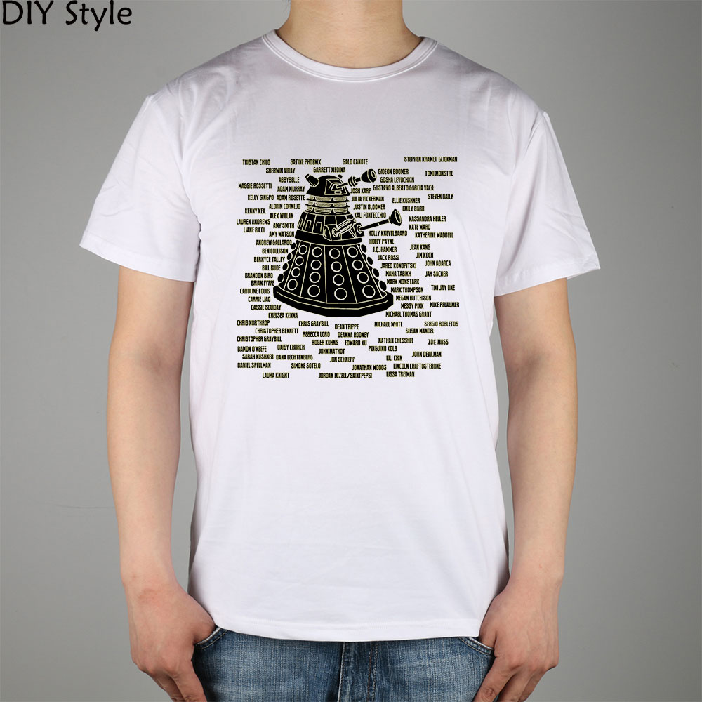DOCTOR WHO ART PHYSICS Sheldon T-shirt cotton Lycra top 11094 Fashion Brand t shirt men new DIY Style high quality