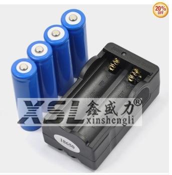 The actual capacity of 2200 mah 4 oz Enla era digital liitokala 186503.75000 Ma Bateria DE Iones DE litio + cargador DE Bateria