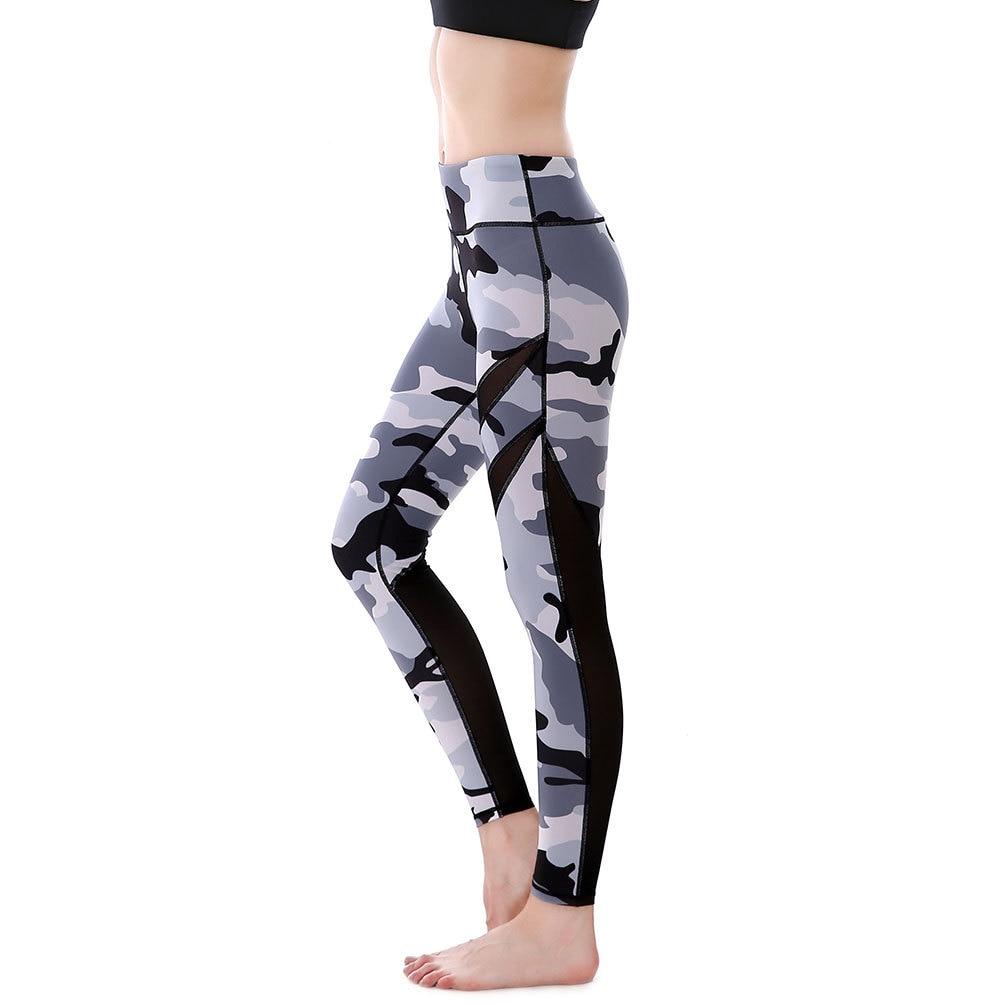 Manufacturers Women Sportswear Calzas Running Pants Camo