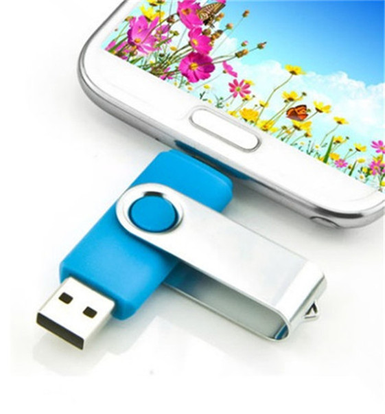 real capacity phone computer USB Flash drive OTG USB Flash Drive Micro USB Flash Drive U Disk for Android Phone 2