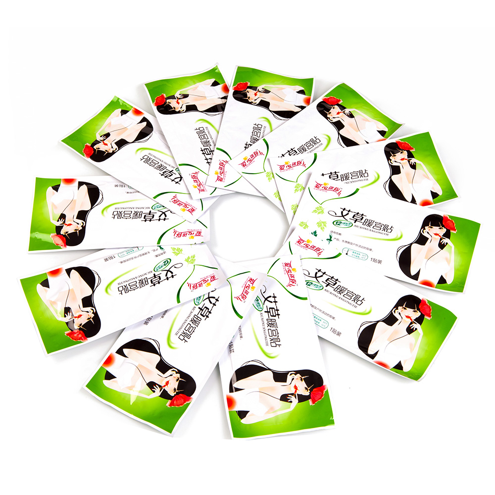 IFORY New Arrival 8Pieces/Lot Ay Tsao Menstrual Cramps Pain Relief Patch 10*20cm Self Adhesive muscle Heat Pad Warm Palace Patch the cramps the cramps rockinnreelininaucklandnewzealandxxx lp