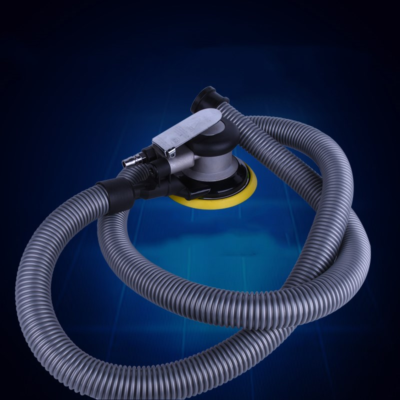 High Quality 5'' Air Sander with Vacuum 125mm Pneumatic Sander Air Sanding Machine Pneumatic Tools Pneumatic Polishing Machine