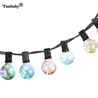 Tanbaby G40 Globe Bulb Copper Wire LED String Lights For New Year Party Christmas Decoration Party