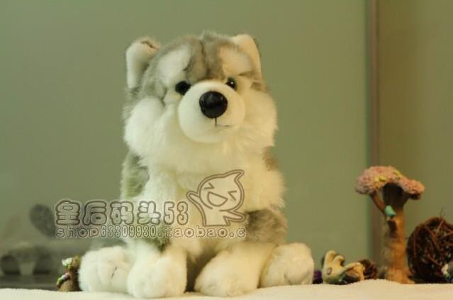 Simulation Animal  Plush  Children'S Toys  Alaska Dog  Stuffed Big Toy  Super Kawaii Huskies Dolls plush dinosaur doll child toys magic dragon simulation stuffed animal toy dolls stores