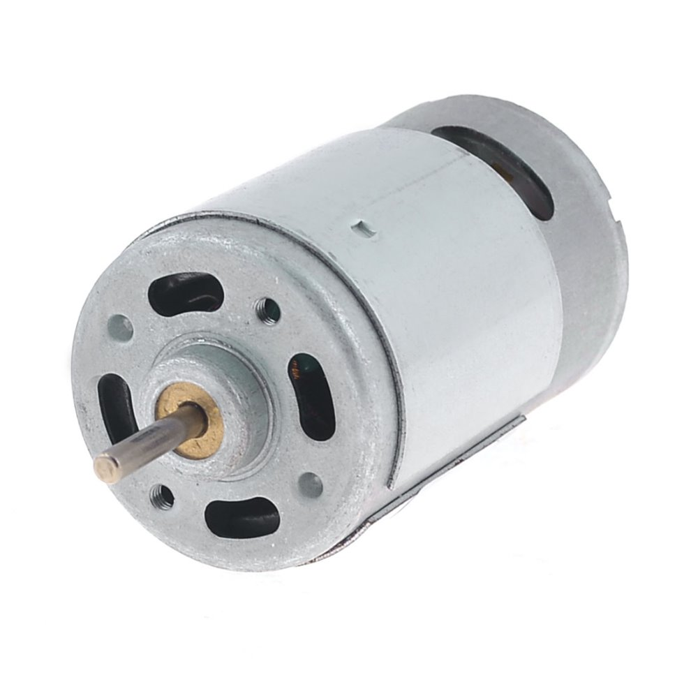 UXCELL 3000RPM 24V High Torque 35mm Dia Cylinder Electric Mini DC Motor with 3mm Diameter Shaft and 2 Terminal Hot Sale round shaft cylinder electric mini vibration motor 6900rpm 1 5 6vdc