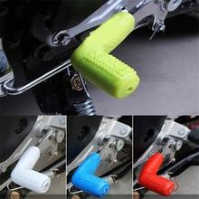 все цены на Motorcycle Gear Shift Lever Gear Shifter Boot Shoe Shift Case Protectors Covers for Kawasaki KTM yamaha honda Suzuki BMW Ducati онлайн