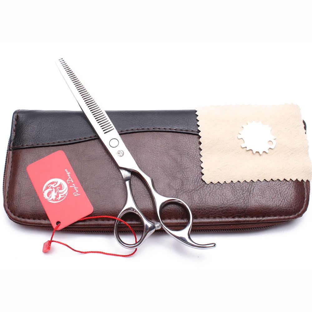 """700 #6.5 """"JP nożyce do cięcia ze stali nierdzewnej nożyce do cieniowania nożyczki fryzjerskie profesjonalne nożyce do salonu fryzjerskiego Dropshipping"""