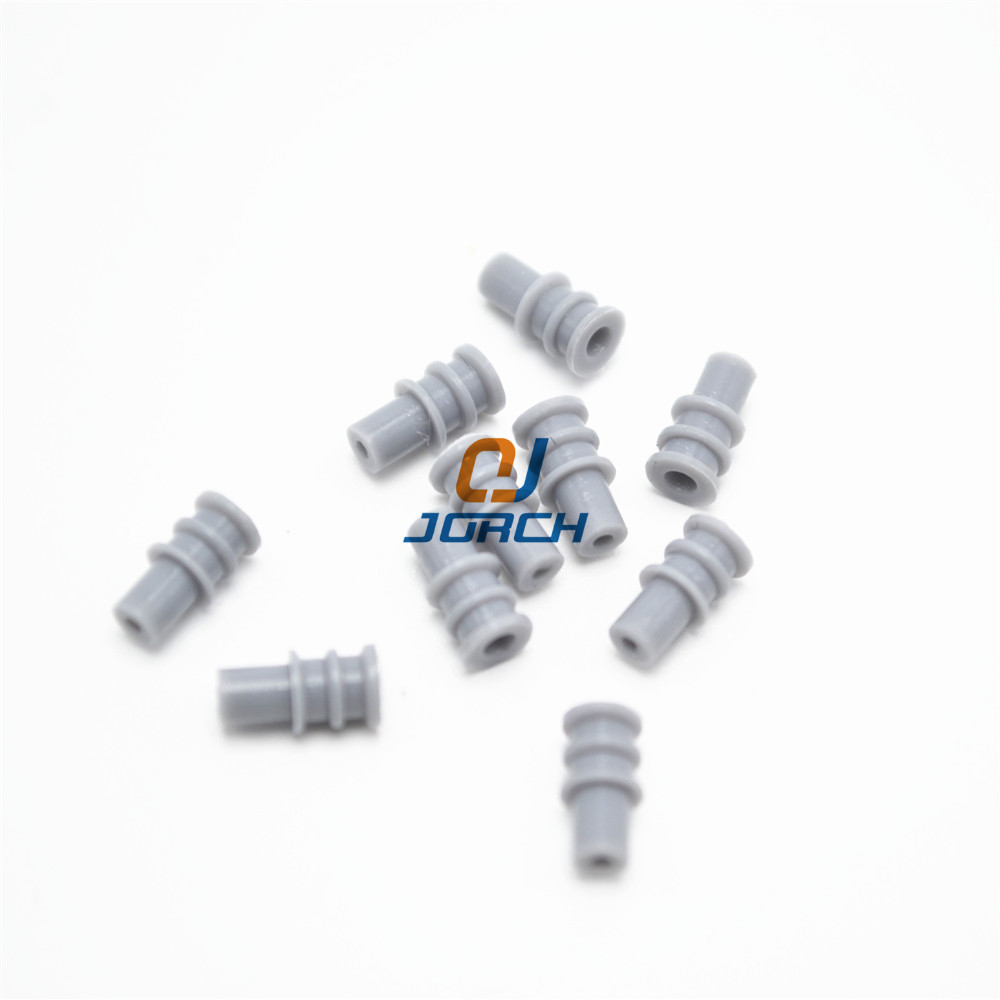 100pcs Sealed Waterproof 1.5 Series Automotive Plug Silicone Rubber Seal Wire Seals For Auto Connector