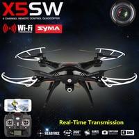 SYMA X5SW Aviones FPV Mini Drone con Cámara de $ number Canales RC Helicóptero Quadcopter Juguetes USB Móvil Wifi Transmisión En Tiempo Real
