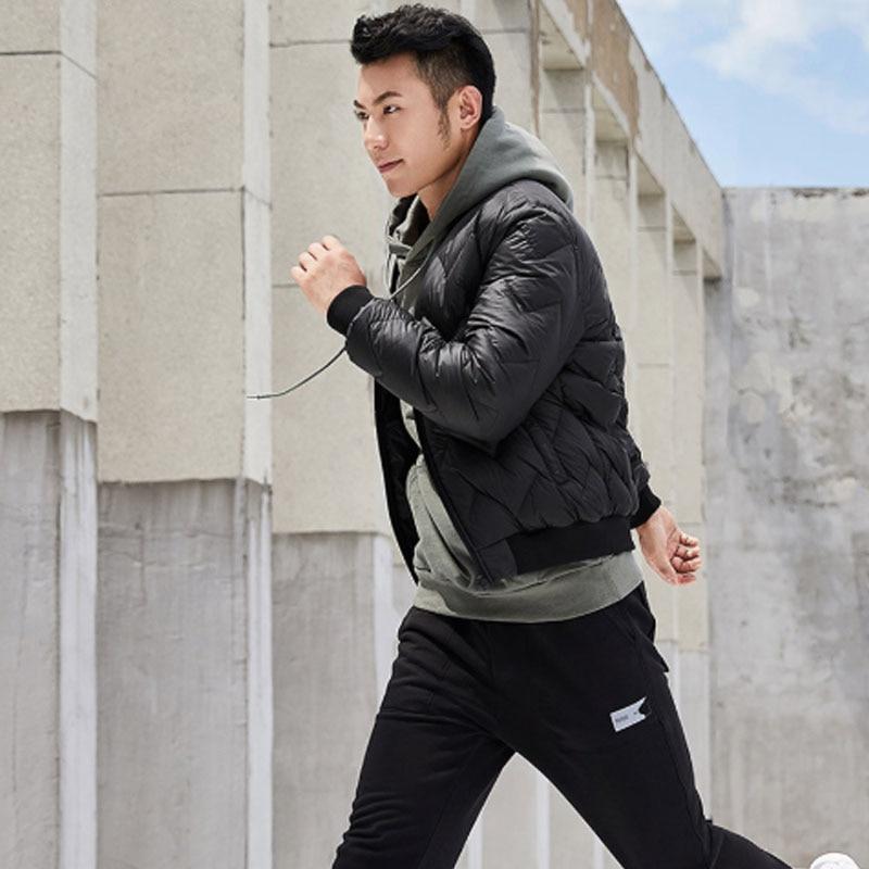 Original Xiaomi Uleemark Men Down Baseball Jacket Casual Zip Jacket Multi Pocket Ultra-light Warm Winter Upper Fluffy Coat H20 The Latest Fashion Consumer Electronics