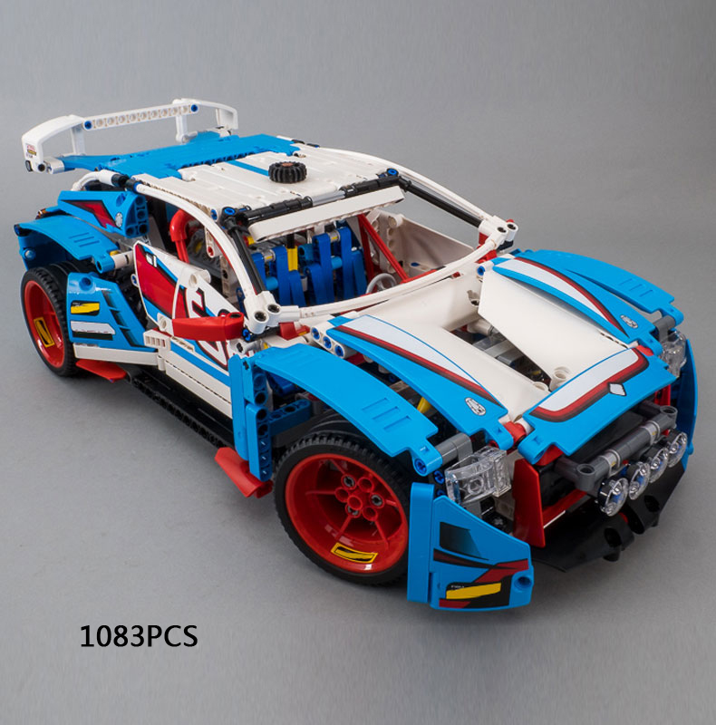 Upgraded Technics Rally Sport Car 2in1 BF Injection Building Block Dune Buggy Model Brick 42077 Educational Toy Collection Gift