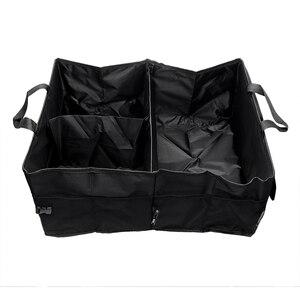 Image 5 - Органайзер для заднего сиденья автомобиля, многоцелевой держатель, сумка для хранения, универсальная складная сумка для укладки, аксессуары для интерьера багажника