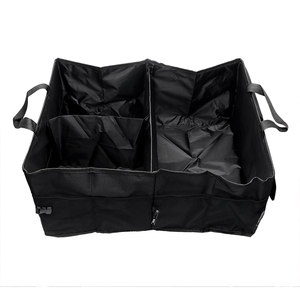 Image 5 - Car Back Seat Organizer Multi use Holder Storage Bag Universal Foldable Stowing Tidying Car styling Interior Accessories Trunk