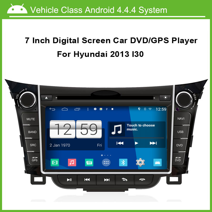 Android Car DVD Video Player for HYUNDAI i30 2012 2013 GPS Navigation,Speed 3G, enjoy the built-in WiFi