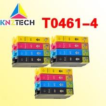 Cartucho de tinta para STYLUS C63 16 pcs T0461-T0474/C65/C83/C85 CX6300/CX6500/CX3500