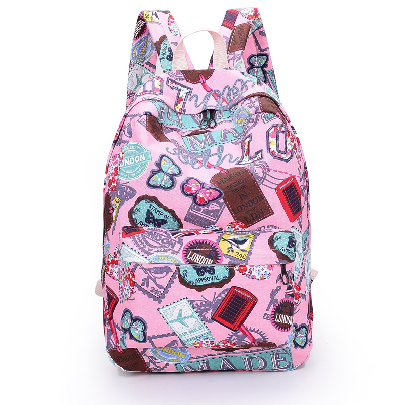 Aliexpress.com : Buy 2015Women Backpack Canvas BackpackSchool Bags ...