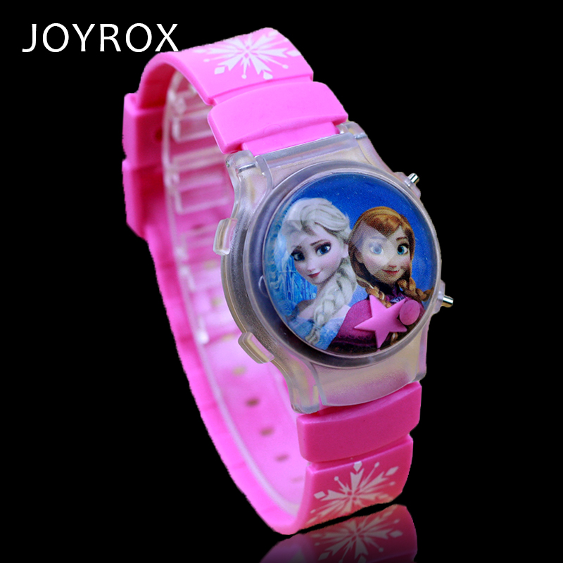 JOYROX LED Silikon Barn Klocka Clamshell Jelly Digital Armbandsur Hot - Barnklockor - Foto 6