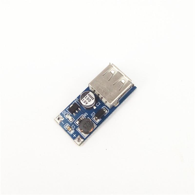 Blau DC-DC USB Ausgang Ladegerät Step Up Power-Boost-Modul 0,9 V ~ 5V Bis 5V 600MA USB mobile Power-Boost-Board