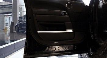 สำหรับLand Rover Range Rover Vogueสไตล์รถเอบีเอสโครเมี่ยมรถประตูครอบคลุมการตกแต่งตัดแถบปั้นตกแต่งภายในอุ...