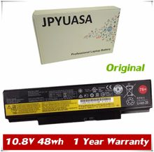 7XINbox 10.8V 48wh Originais 45N1759 45N1758 45N1760 45N1761 Bateria Do Portátil Para Lenovo ThinkPad E555 E550 E550C 3INR19/65-2