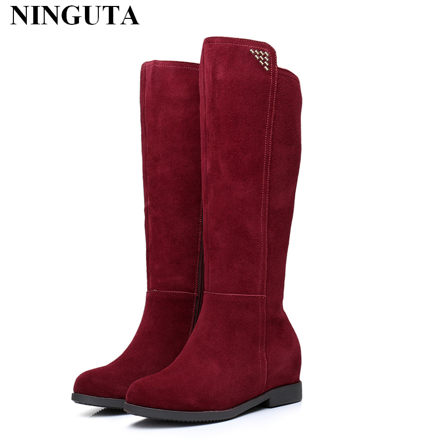 Innovative Balenciaga Suede Ankle Boots In Red | Lyst