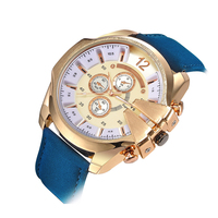 Männer Sport Uhr Cowboy V6 Uhren Männlichen Quarz Uhr Analog Casual Fashion Military Leder Armbanduhr relogio masculino uhr|Quarz-Uhren|   -