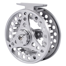PROBEROS Fly Fishing Wheel 3/4 5/6 7/8 WT Fly Fishing Reel Aluminum Fly Reel CNC Machine Cut Large Arbor Die Casting