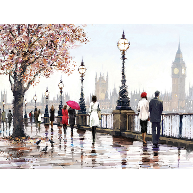 5D DIY Full Square Diamond Painting Couple umbrella 3D Embroidery Cross Stitch Mosaic Painting Home Decor Gift