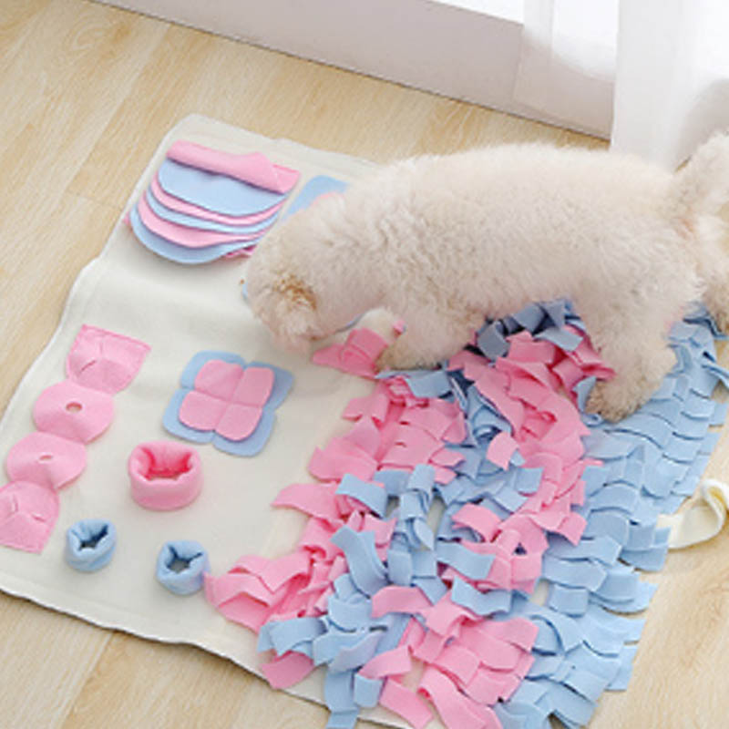 60*60cm Pet Accessories Training Dog Mat Game Blanket Cloth Pet Sniffing Blankets Washable Mats Foldable Dog house Pad