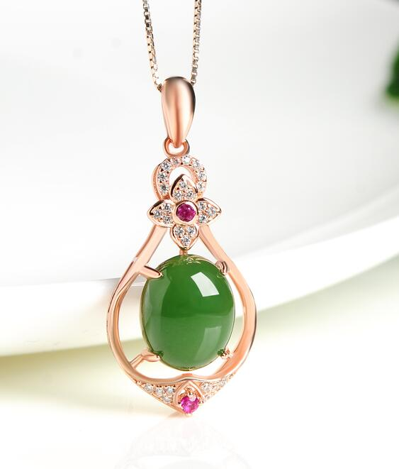 hetian fine jewelry yu inlaid natural egg face pendant fashion female and nephrite necklace yu Pendant наклейки yu truze