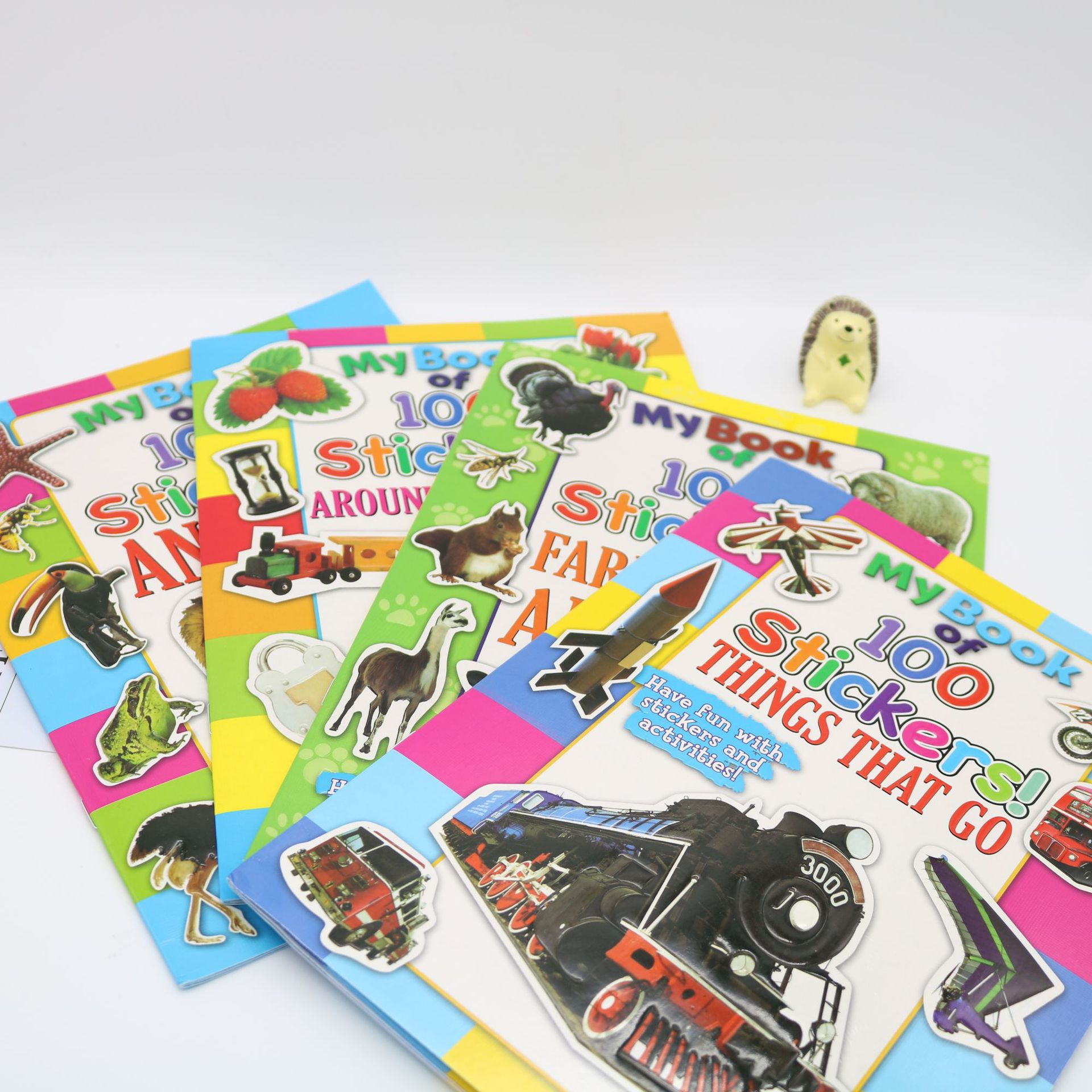 8Pcs/set Sticker activity book Earth seriesA4 creative sticker my 1 2 3 sticker activity book