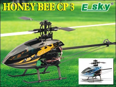 Esky Honey Bee CP3 6CH Remote Control CCPM RC Helicopter RTF 2.4GHz (002437) RC toys