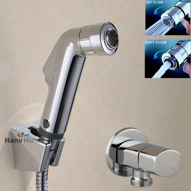 Wall Mounted Faucet With Sprayer