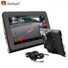 """Junsun 7 """"Capacitiva Car Video Recorder DVR Cámara Android 4.4 GPS Camión gps sat nav navegación WIFI FM 16 GB Mapa Gratuito actualización"""